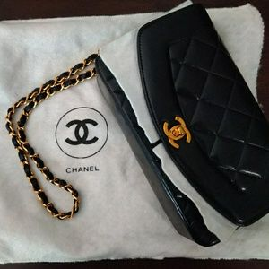 "Chanel Vintage ""Diana"" Quilted Purse"